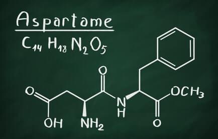 aspartam chemische strukturformel