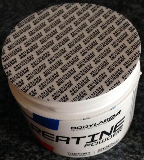 bodylab24 creatine powder dose frischesiegel