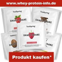 foodspring eiweißshake probierpaket verschiedene sorten