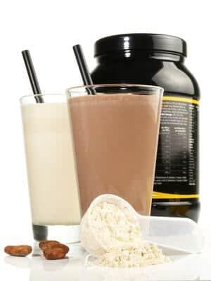 verschiedene proteinpulver