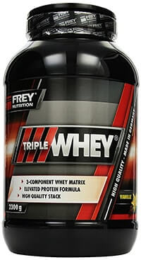 frey nutrition triple whey protein test