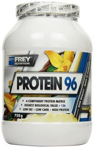 low carb whey protein frey nutrition protein 96