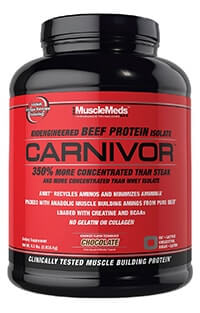 musclemeds carnivor beef protein eiweißpulver-isolate