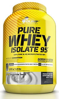 olimp whey protein isolate 95 test