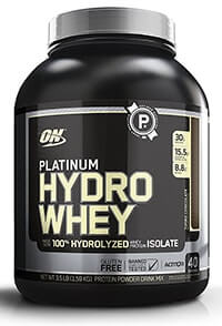 optimum nutrition platinum hydro whey protein test