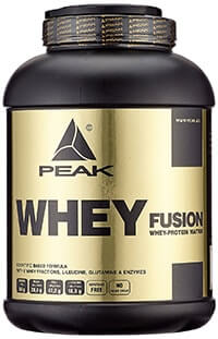 peak whey fusion test