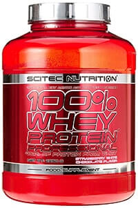 scitec nutrition whey protein professional test