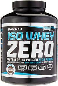 whey isolat biotech usa iso whey zero