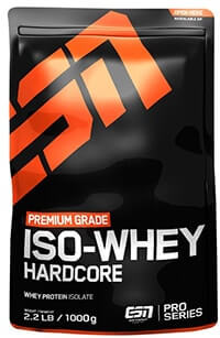 whey isolat esn iso whey hardcore