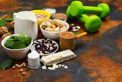 vegane proteinpulver und eiweissquellen
