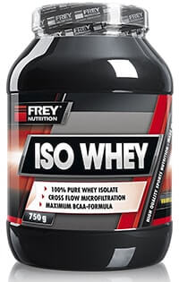 qualitaetssieger whey protein frey nutrition iso whey