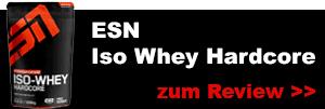 ESN Iso Whey Protein Hardcore testbericht