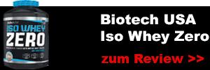 biotech usa iso whey protein zero testbericht