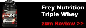 frey nutrition triple whey protein testbericht