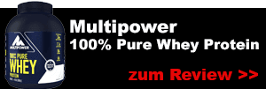 multipower 100 prozent pure whey protein test