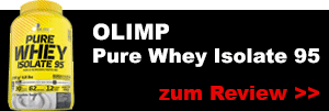 olimp pure whey protein isolate 95 testbericht