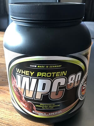 Supplement Union Whey Protein Concentrate 80 Schoko Spezial Dose