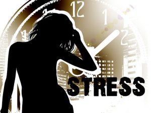 Schlaffeinde Stress Hektik