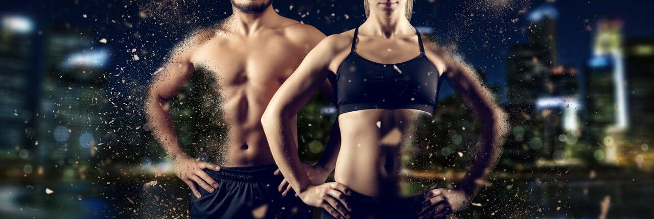 Besserer Muskelaufbau mit veganen Proteinpulvern