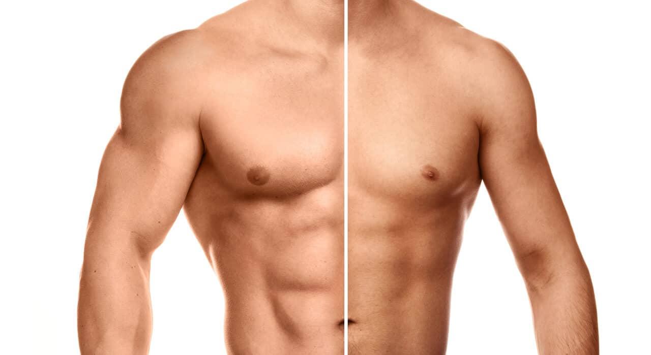 Muskelwachstum durch Protein