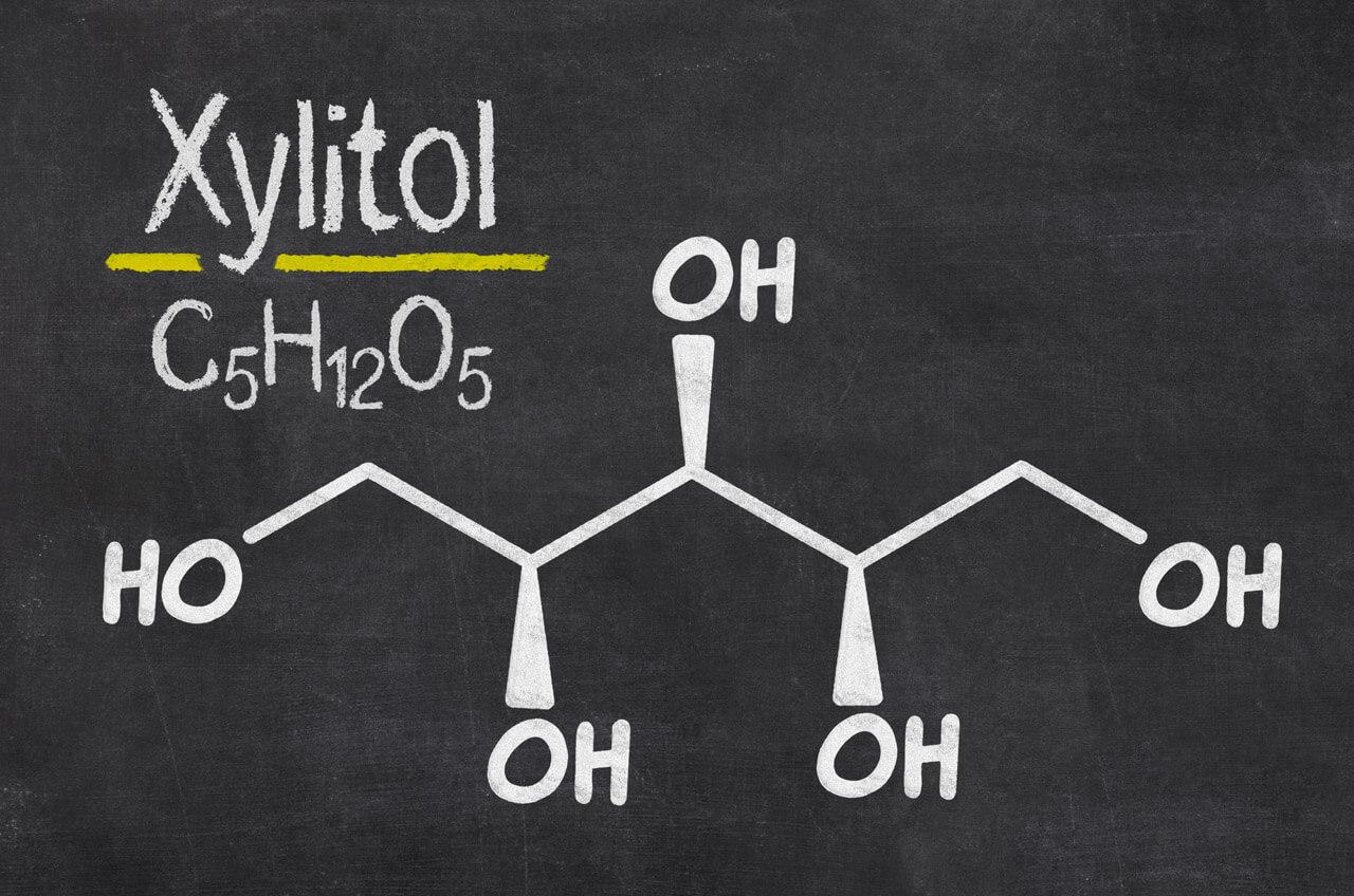 Xylitol Strukturformel